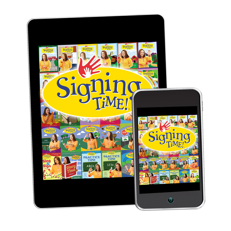 Signing Time American Sign Language (ASL) Learning Resources